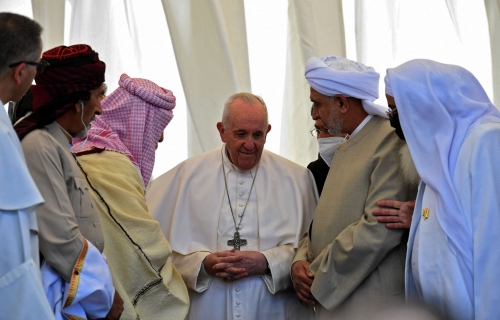pape irak.jpg